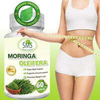 MORINGA OLEIFERA LEAF PILLS CAPSULES MULTI VITAMIN ANTI AGEING 10,000mg EXTRACT
