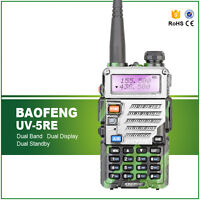 Baofeng UV-5RE Walkie Talkie144/430MHz VHF UHF1800mAh Ham Amateur Two-way Radios