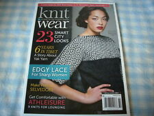 KNIT WEAR MAGAZINE SPRING/SUMMER 2017, CURATED FOR THE MODERN KNITTER.