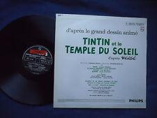 Tintin et le temple du soleil LP 33t Hergé Brel