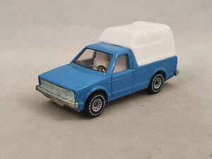 Siku VW Caddy Golf Pick up Truck Volkswagen 1049 1:55 blau mit Verdeck