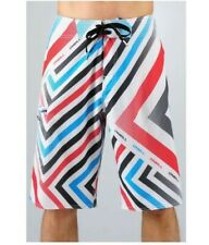 O'Neill SIZE 30 Geo Epic Freak Super Stretch Board Shorts (White)