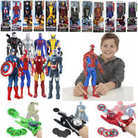 Marvel The Avengers Super Hero Incredible Action Figure Toy Launcher Gloves Gift