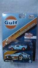 Auto World 2018 1/64 1965 Ford Gt40 Gulf Racing Mijo Exclusive New