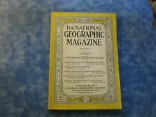 ANTIQUE NATIONAL GEOGRAPHIC May 1930 FORTUNATE ISLES Plants of Canary Islands