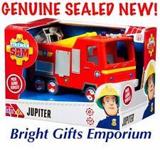 Fireman Sam JUPITER Push Along Fire Engine Firetruck Toy Boy Girl Birthday NEW