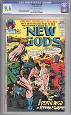 NEW GODS #8 - CGC 9.6 - 1972 / KIRBY / MOVIE COMING!