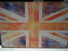 "UNION JACK/ BRITISH FLAG , RETRO METAL SIGN 12""X 8"", 30X20 CM, FREE UK SHIPPING"