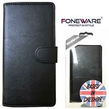Foneware Apple iPhone 5 5S SE Case Luxury Wallet Cover Flip Book Card Slot Black