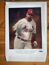 Albert Pujols Signed poster Painted By Todd Perry  #29/700