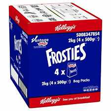 Kelloggs Frosties Cereal Bag Pack - 4x500g