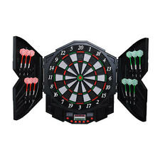 PERFORMANZ® LCD Display Electronic Dart Dartboard Set w/ 12 Soft Tip Darts