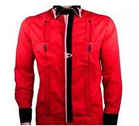 Men's Chacabana / Guayaberas Hombres Italian Cotton 100% / Cuban Shirt