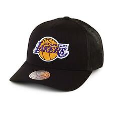 Mitchell & Ness LA Laker Adjustable Snapback Adults Cap Hat Black INTL572 LA