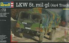 KIT REVELL 1:72 DEMI MILITAIRE à assembler LKW 5t.mil gl (4X4 CAMION) ART. 03300
