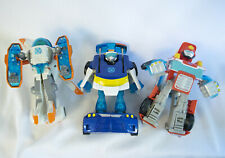 "Hasbro 6"" RESCUE BOTS LOT Heatwave Blades Chase Transformers Action Figures"