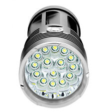1 50000LM 14 x Cree Xm-l T6 LED Taschenlampe Fackel 4x 18650 Jagd Laternen