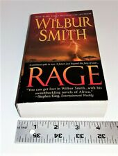 WILBUR SMITH- RAGE- PPBK- 2007- VERY GOOD TO GOOD CONDITION.