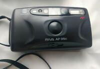 Minolta Riva AF35c Camera & Case Tested Lomography Compact 35mmn