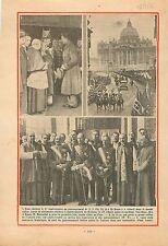 Pape Pius Pio Pie XI Cathedral of Brussels Sainte Gudule de  1932 ILLUSTRATION
