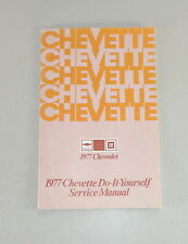 Owner's Manual / Betriebsanleitung Chevrolet Chevette Stand 1977