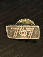 Collectible Vintage 767 Metal Pinback Lapel Pin Hat Pin