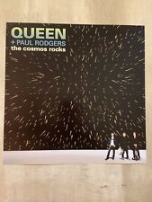 """Queen + Paul Rogers """"The Cosmos Rocks� Promo Poster"""