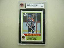 1986/87 O-PEE-CHEE NHL HOCKEY CARD #259 WAYNE GRETZKY LEADER KSA 7 NM 86/87 OPC