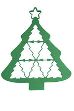 New AVANTI Multi Christmas Tree Cookie Cutters Cake Mold Decorating Baking Tool