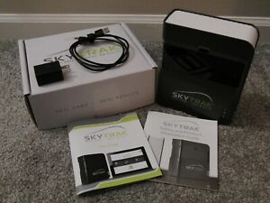 Skytrak Launch Monitor with Protective Steel Case Mint Condition!