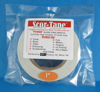 """Scor-Tape Adhesive 1"""" x 27yd by Scor-Pal - Value!"""