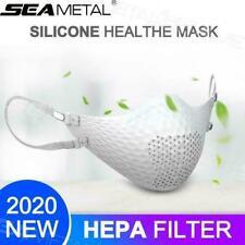 Washable Reusable Face Adult Mask Silicone Mask HEPA Filter Anti-fog Mask