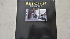 HALLYDAY 84 NASHVILLE EN DIRECT *COMPLETE 2LP BOX WITH ALL INSERTS*NM*