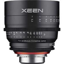 Rokinon Xeen 35mm T1.5 Lens for Canon EF Mount Cine Cinema XN35-C