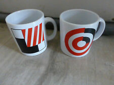 lot 2 anciens mug Waechtersbach decor geometrique Germany design vintage