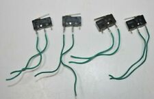 Lot Of 4 Omron Micro Limit Switch Ss 5gl With Straight Lever 5a 125vac