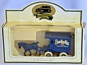 Days Gone Made In England by Lledo Diecast - Bushells Horse Drawn Cart