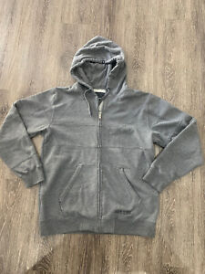 Grey Mens Ripcurl Hoodie Size Large