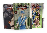 Samurai Deeper Kyo Manga Volumes 1,4,8  English 3 Set