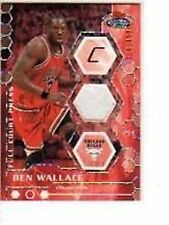 BEN WALLACE 2007-08 STADIUM CLUB FULL COURT PRESS RELICS #FCPR-BWA
