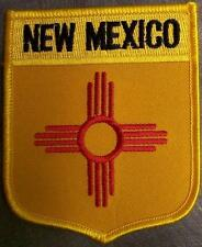 Embroidered Usa State Patch New Mexico New bunting