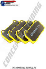 Mitsubishi EVO VIII 8 CT9A 4G63 Uprated EBC Yellowstuff Front Brake Pads- Brembo