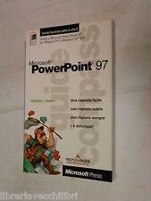 Microsoft PowerPoint 97 Stephen L Nelson Mondadori Microsoft Press informatica