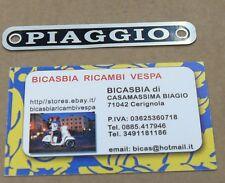 1294 TARGHETTA PIAGGIO METALLO SELLA VESPA 50 R L N 125 150 200 PX VNA VNB VBB