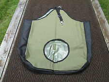 Deluxe Hay Bag / Mesh Sides / Olive Green