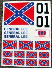 Monkey Bike 'General Lee' Motor Bike Decal Stickers set