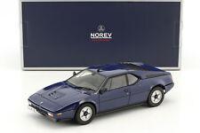 BMW M1 Année 1980 Bleu Foncé 1:18 Norev