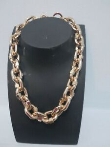 BY SARA CHRISTIE THE BOSS Necklace Gold Retails £89.00 New
