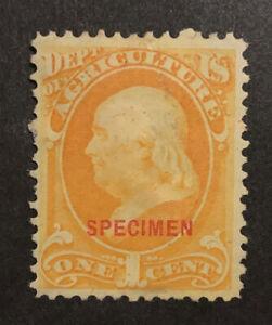 TDStamps: US Official Stamps Scott#O1S Unused NG Specimen