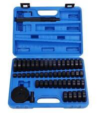 52Pc Custom Bushing Bearing Seal Driver Push Press Disc Tool Set 18-65mm US
